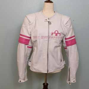 Icon women's large motorcycle jacket